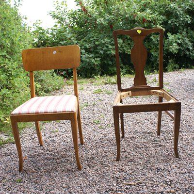 Mina stolar i vardagsrummet