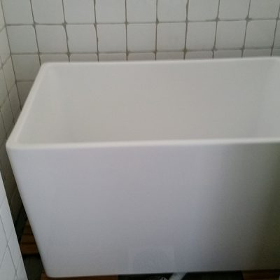 Asta i badet