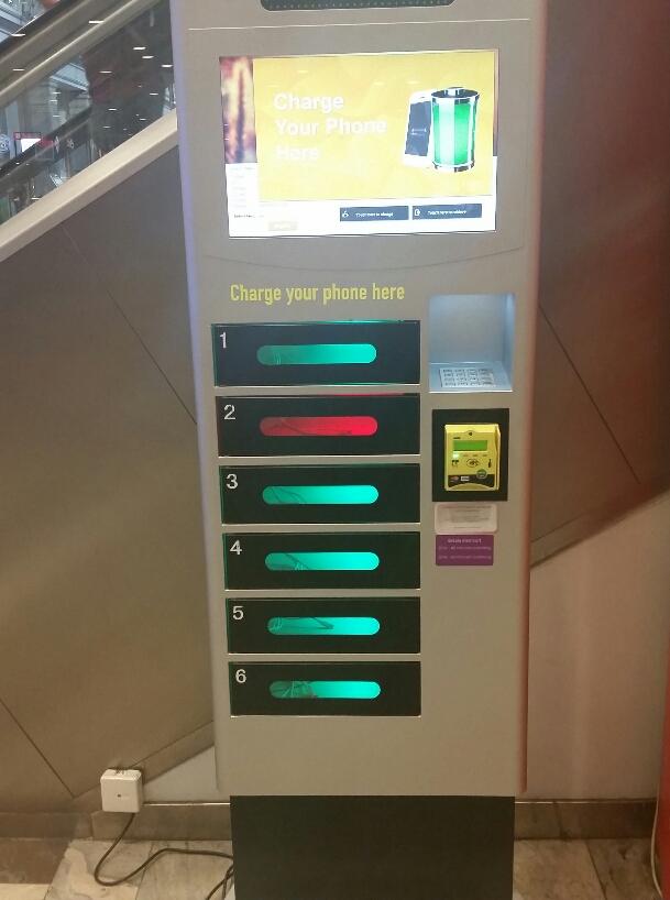 Mobilladdningsautomat