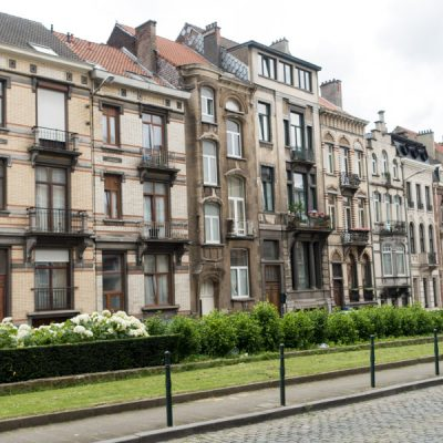 Bryssel och husen