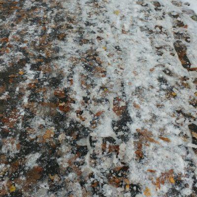 Och så blev det vinter i Småland också :(