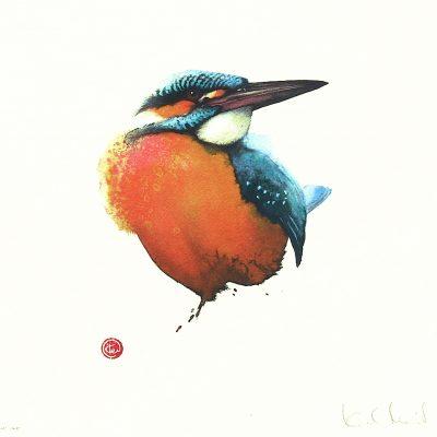 En RIKTIG fågelkonstnär
