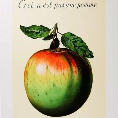 Det här är inte ett äpple – eller?