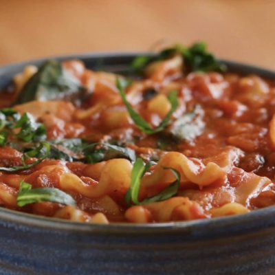 Lasagnesoppa