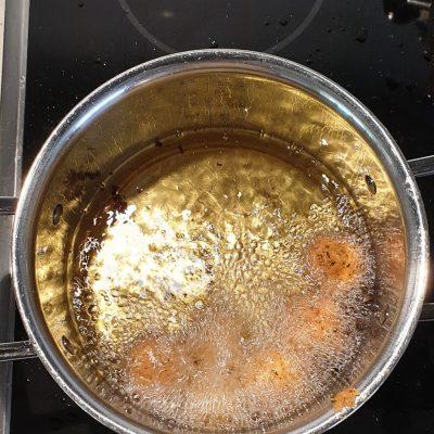 Jag gjorde falafel!